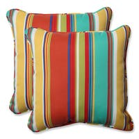 Pillow Perfect Outdoor Westport Spring 18.5-inch Throw Pillow (Set of 2)
