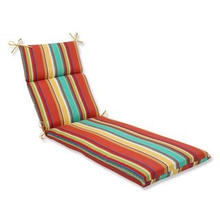 Pillow Perfect Outdoor Westport Spring Chaise Lounge Cushion