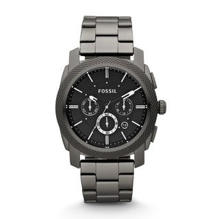 Fossil Men's FS4662 Machine Smoke Stainless Steel Chronograph Watch