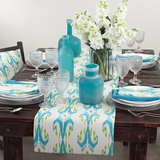 Ikat Design Printed Table Linens