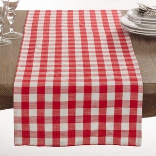 Gingham Design Runner