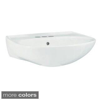Sterling Sacramento White 4-inch Pedestal Sink Basin