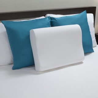 Comfort Revolution Molded Memory Foam Contour Pillow