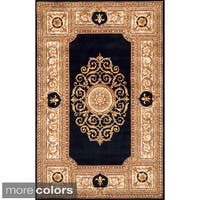 Momeni Maison Black Hand-Tufted Wool Rug (2' X 3')