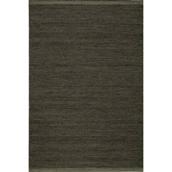 Momeni Mesa Smoke Hand-Woven Wool Reversible Rug (2' X 3') - 2' x 3'