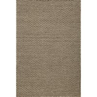 Momeni Mesa Brown Hand-Woven Wool Reversible Rug (2' X 3') - 2' x 3'