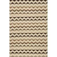 Momeni Mesa Natural Hand-Woven Wool Reversible Rug (2' X 3')