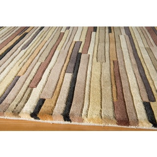 New Wave Mendocino Hand-tufted Wool Area Rug (2'6 x 8')