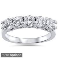 Bliss 14k Gold 1ct TDW 5-stone Diamond Wedding Ring (I-J, I2-I3)