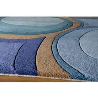 New Wave Pinole Hand-tufted Wool Area Rug (2'6 x 8')