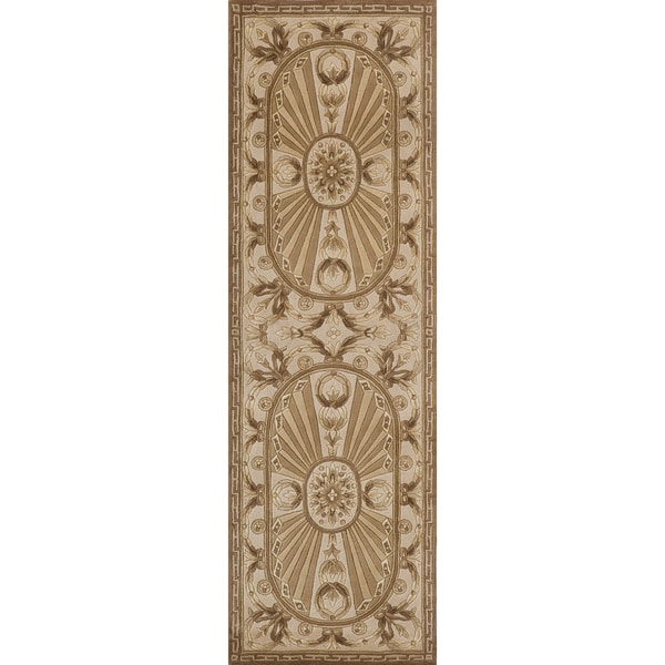 Momeni Harmony Hand-Tufted Wool Runner Rug (2'6 X 8')