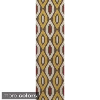 Global Amani Hand-tufted Wool Area Rug (2'6 x 8')