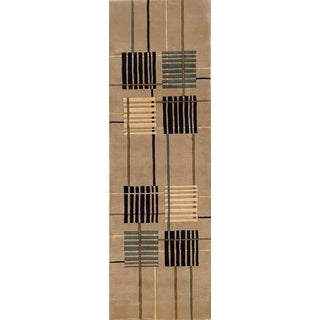 New Wave Stockton Hand-tufted Wool Area Rug (2'6 x 12')