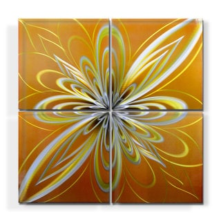Geometric Metal Wall Art geometric modern metal abstract wall art - free shipping today