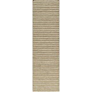 Momeni Mesa Natural Hand-Woven Wool Reversible Runner Rug (2'3 X 8')