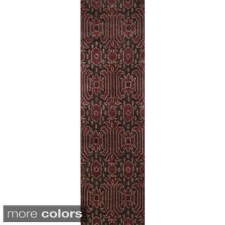 Global Andijon Hand-tufted Wool Area Rug (2'6 x 8')