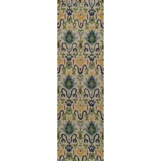 Global Khiva Hand-tufted Wool Area Rug (2'6 x 8')
