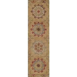 Global Cormac Hand-tufted Wool Area Rug (2'6 x 8')