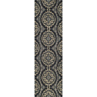 Global Bria Hand-tufted Wool Area Rug (2'6 x 8')