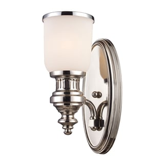Chadwick Collection 1-Light Sconce In Polished Nickel