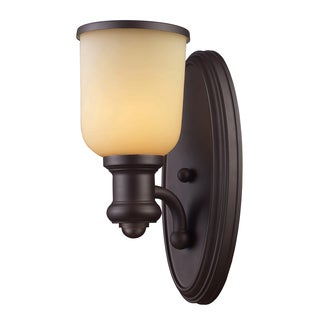 Brooksdale collection 1-Light Sconce In Oiled Bronze