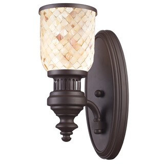 Chadwick Collection 1-Light Sconce In Oiled Bronze