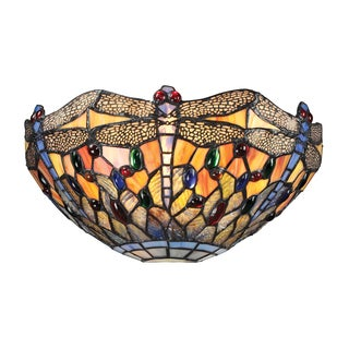 Dragonfly Collection 1-light sconce in Dark Bronze