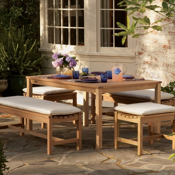 Oxford Garden Backless 24-inch Bench