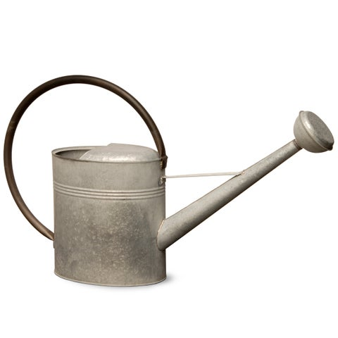 18-inch Zinc Metal Watering Can