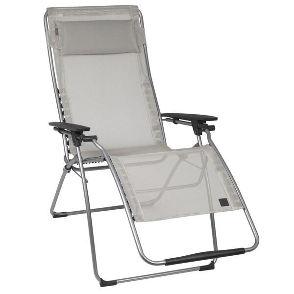 shop lafuma futura xl silver frame zero gravity recliner free shipping today. Black Bedroom Furniture Sets. Home Design Ideas