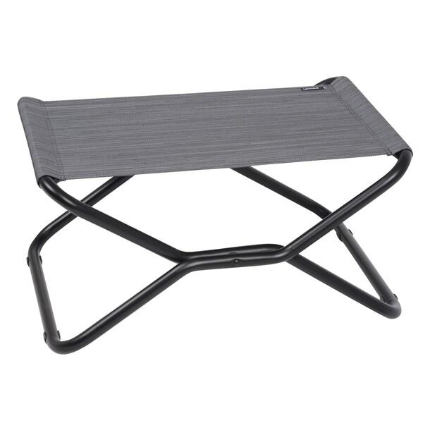 Lafuma Next Black Frame Folding Footrest Stool Free
