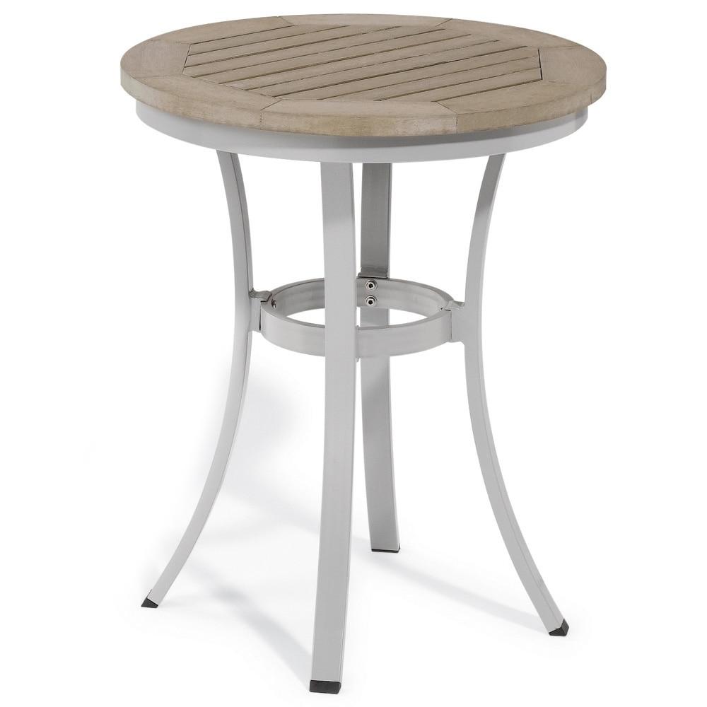 Oxford Garden Travira 24-inch Round Cafe Bistro Table (Al...