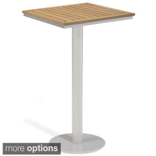 Oxford Garden Travira 24-inch Square Bar Table