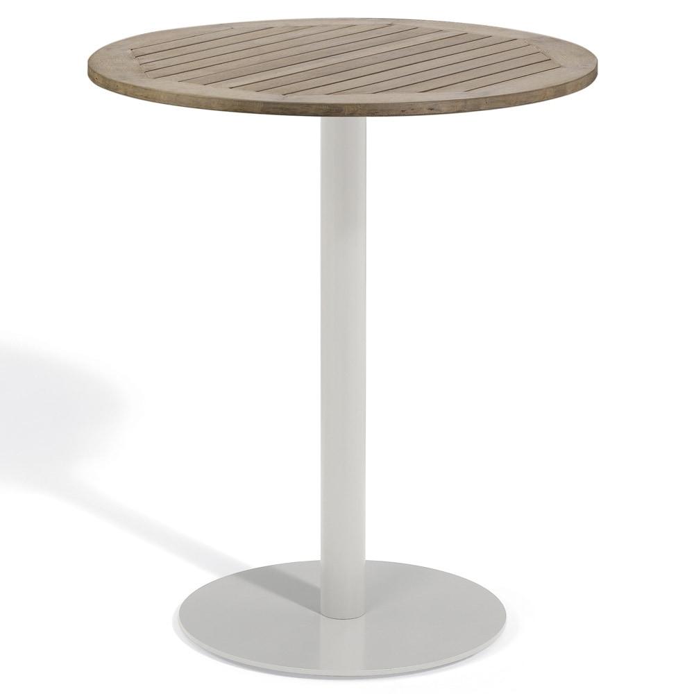 Oxford Garden Travira 36-inch Round Bar Table (Aluminum, ...