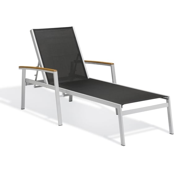 Piscine black chaise lounge set of 2 free shipping for Black outdoor chaise lounge
