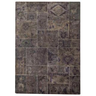 M.A.Trading Hand-tufted Sarangi Grey New Zealand Wool Rug (6'6 x 9'6)