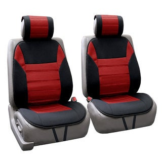 FH Group Red Thick Foam Padding Seat Cushion Pads (Set of 2)