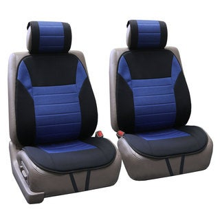 FH Group Blue Thick Foam Padding Seat Cushion Pads (Set of 2)