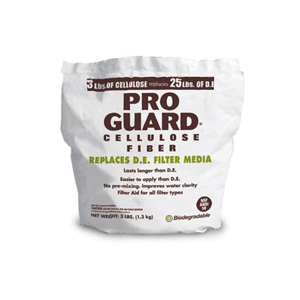 Pro Guard Swimming Pool Cellulose Fiber D.E. Filter Media Replacement