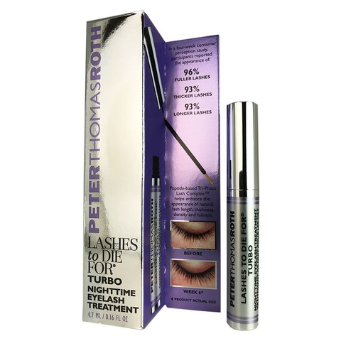 Peter Thomas Roth Lashes To Die For Turbo 0.16-ounce Nighttime Eyelash Treatment