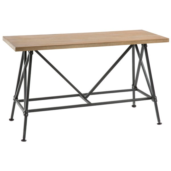 Ink Ivy Cooper Counter Height Dining Bench Free Shipping