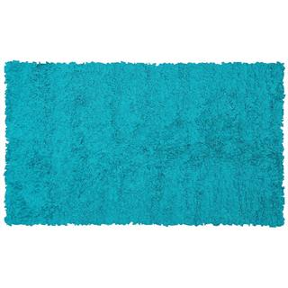 Teal Cotton Jersey Shag Rug (4'7 x 7'7)