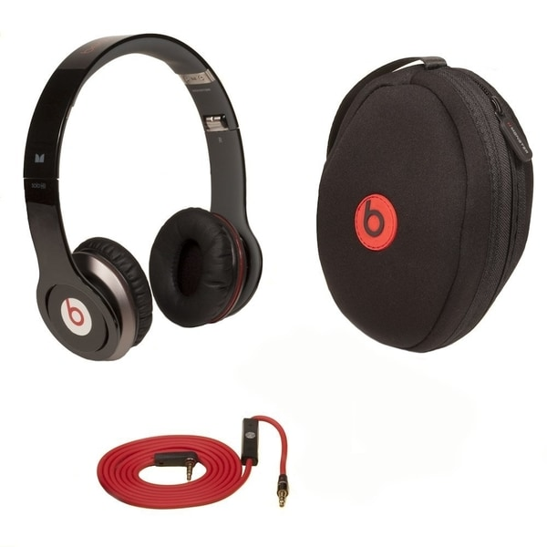 3758261f69e Beats by Dre Solo HD On-ear Headphones - Refurbished by Overstock