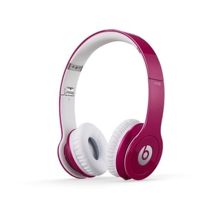Beats by Dre Solo HD On-ear Headphones - Refurbished by Overstock Pink
