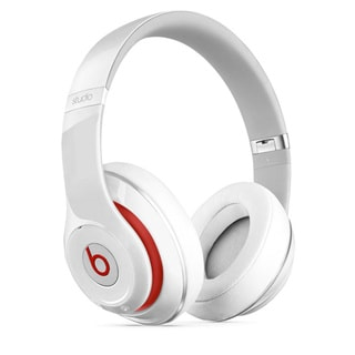 Beats by Dre Studio 2.0 Over-ear Active Noise Canceling Headphones - Refurbished by Overstock White