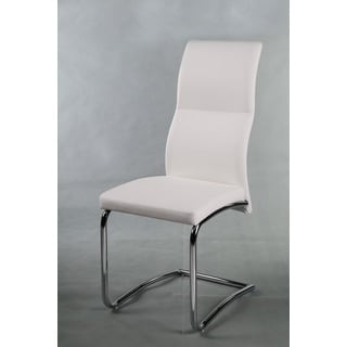 White Side Dining Chairs (Set of 4)