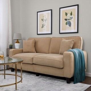 Serta RTA Palisades Collection 73-inch Silica Sand Sofa