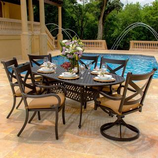 Avondale 7-piece Cast Aluminum Dining Set