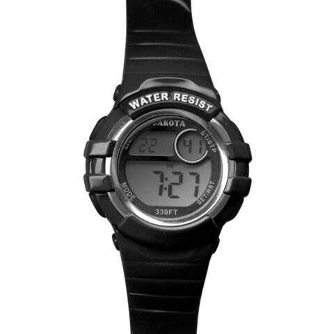 Dakota Watch Black Digital Diver Watch
