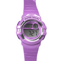 Dakota Lavendar Digital Diver Watch
